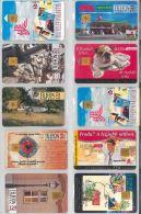 LOT 10 PHONE CARDS UNGHERIA (ES99 - Hungary