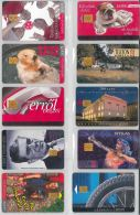 LOT 10 PHONE CARDS UNGHERIA (ES100 - Hungary
