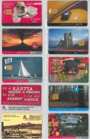 LOT 10 PHONE CARDS UNGHERIA (ES102 - Hungary
