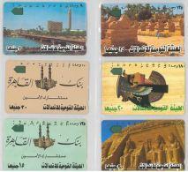 LOT 4 PHONE CARDS EGITTO (ES108 - Egypt