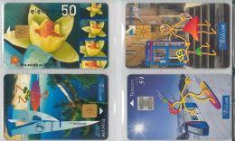 LOT 4 PHONE CARDS PORTOGALLO (ES133 - Portogallo