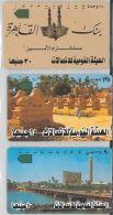 LOT 3 PHONE CARDS EGITTO (ES134 - Egypt