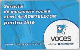 PHONE CARD - ROMANIA (H.1.6 - Romania