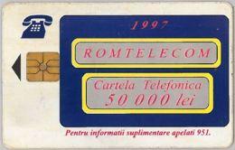 PHONE CARD - ROMANIA (H.3.6 - Romania
