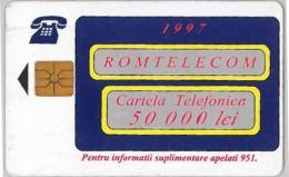 PHONE CARD - ROMANIA (H.3.7 - Romania