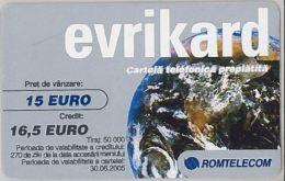 PREPAID PHONE CARD - ROMANIA (H.3.8 - Romania