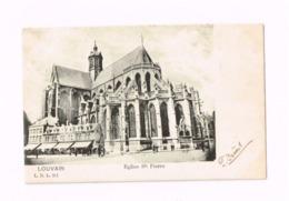 Louvain.Eglise Saint-Pierre.Expédié De Louvain à Gand. - Leuven