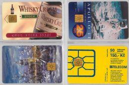 LOT 4 PHONE CARD - REPUBBLICA CECA (H.18.1 - Czech Republic
