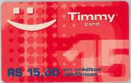 RICARICA TIMMY CARDBRASILE (H.18.8 - Brazil