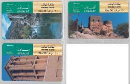 LOT 3 PHONE CARD - EMIRATI ARABI (H.21.1 - United Arab Emirates