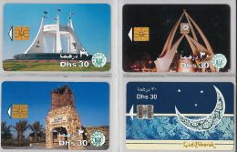 LOT 4 PHONE CARD - EMIRATI ARABI (H.21.5 - United Arab Emirates