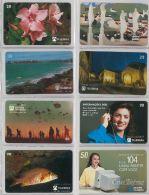LOT 8 PHONE CARD - BRASILE (H.22.1 - Brazil