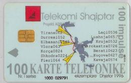 PHONE CARD - ALBANIA (H.26.1 - Albania