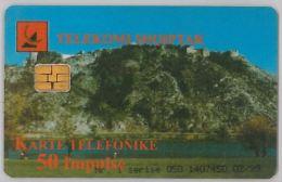 PHONE CARD - ALBANIA (H.26.4 - Albania