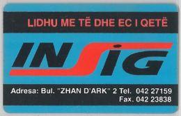 PHONE CARD - ALBANIA (H.26.7 - Albania