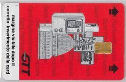 SCHEDA CON CHIP PARCHEGGIO ATM TORINO (H.32.6 - Tickets - Vouchers