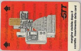 SCHEDA CON CHIP PARCHEGGIO ATM TORINO (H.32.8 - Tickets - Vouchers