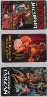 LOTTO 3 CARTE TEMATICA CINEMA (H.34.3 - Books, Magazines, Comics