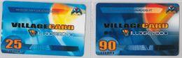 LOTTO 2 PREPAGATE FUNZIONALI VILLAGE CARD (H.39.7 - Altre Collezioni