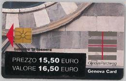 SCHEDA A CHIP PER PARCHEGGIO GENOVA (J1.3 - Tickets - Vouchers