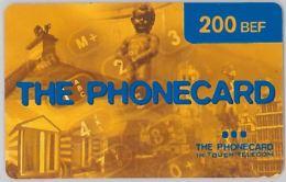 PREPAID PHONE CARD BELGIO (J5.7 - [2] Prepaid & Refill Cards