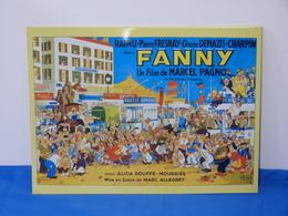 """Plaque Métal """"FANNY"""" Marcel Pagnol - Advertising (Porcelain) Signs"""