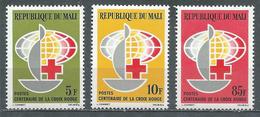 Mali YT N°54/56 Croix-Rouge Internationale Neuf ** - Mali (1959-...)