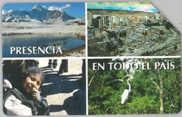 SCHEDA TELEFONICA URMET ENTEL CILE (J53.6 - Chile