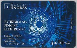 SCHEDA TELEFONICA URMET LITUANIA (J54.4 - Lithuania