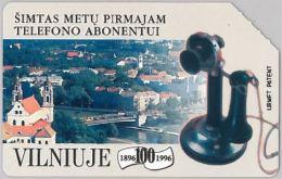 SCHEDA TELEFONICA URMET LITUANIA (J55.3 - Lithuania