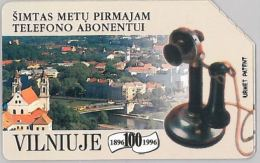 SCHEDA TELEFONICA URMET LITUANIA (J56.1 - Lithuania