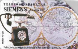 SCHEDA TELEFONICA URMET LITUANIA (J56.6 - Lithuania