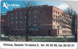 SCHEDA TELEFONICA URMET LITUANIA (J56.7 - Lithuania
