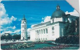 SCHEDA TELEFONICA URMET LITUANIA (J56.8 - Lithuania