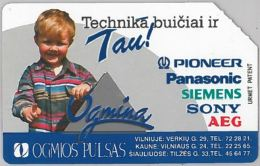 SCHEDA TELEFONICA URMET LITUANIA (J57.6 - Lithuania