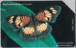 SCHEDA TELEFONICA URMET SIERRA LEONE (J60.4 - Sierra Leone