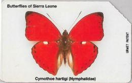 SCHEDA TELEFONICA URMET SIERRA LEONE (J61.2 - Sierra Leone