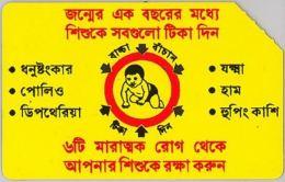 SCHEDA TELEFONICA URMET BANGLADESH (J61.8 - Bangladesh