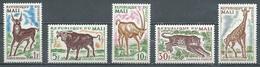 Mali YT N°71/75 Animaux Neuf ** - Mali (1959-...)