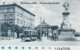 BIGLIETTO BUS MODENA -MAGNETICO PLASTICA DURA (J48.8 - Bus
