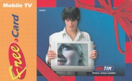FREE CARD TIM MOBILE TV (J7.5 - Italy