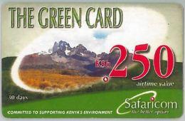 PREPAID PHONE CARD KENIA (U.4.2 - Kenya