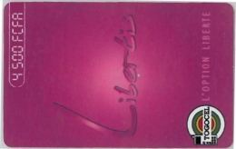 PREPAID PHONE CARD TOGO (U.4.4 - Togo