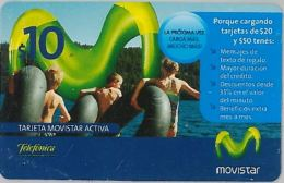 PREPAID PHONE CARD ARGENTINA (U.5.2 - Argentinië