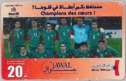 PREPAID PHONE CARD MAROCCO-non Perfetta (U.5.3 - Morocco