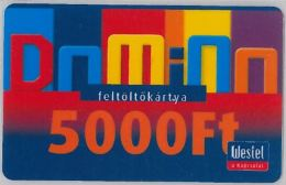 PREPAID PHONE CARD UNGHERIA -WESTEL (U.5.4 - Hungary