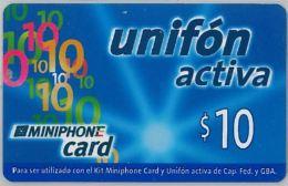 PREPAID PHONE CARD ARGENTINA (U.6.1 - Argentina
