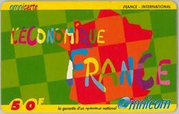 PREPAID PHONE CARD EMIRATI FRANCIA (U.6.7 - France