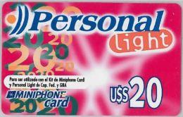 PREPAID PHONE CARD ARGENTINA (U.6.8 - Argentina