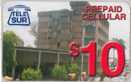 PREPAID PHONE CARD SURINAME (U.7.1 - Suriname